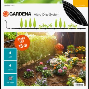 GARDENA startovací sada pro květinové záhonky/kuchyňskou zahradu 13010-20
