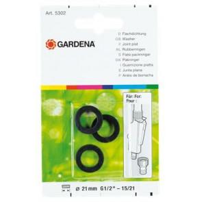 Ploché těsnění GARDENA, Obsah: 3 ks 5301-20
